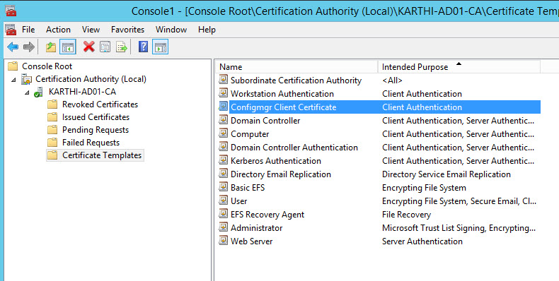 Part 4 setup ca server and deploy pkipublic key infrastructure open the gpo management console using mmc and right click and create a gpo named as sccm certificates gpo policy yadclub Images