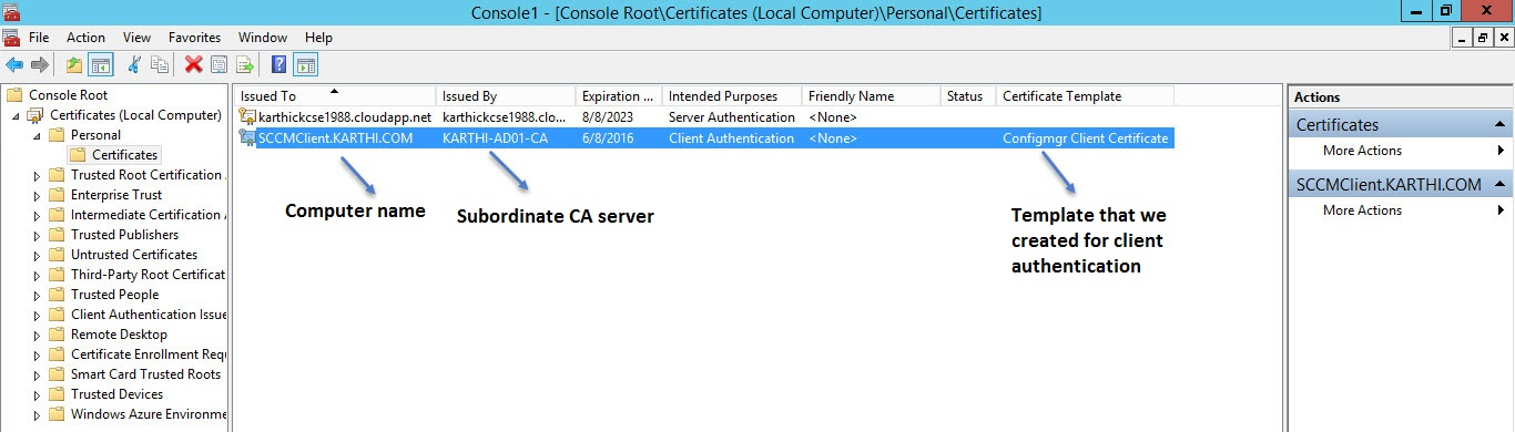 Part 4 setup ca server and deploy pkipublic key infrastructure below is the short summary of what we have done so far to deploy client authentication certificate yelopaper Choice Image