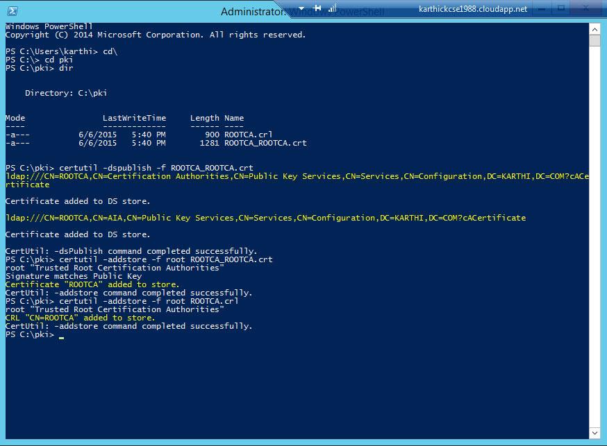 Part 3 Setup Ca Server And Deploy Pkipublic Key Infrastructure