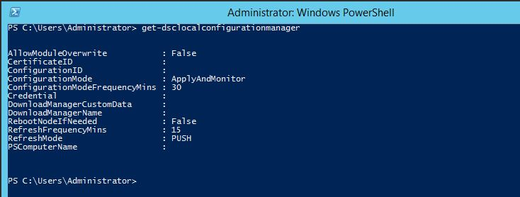 Basics Concepts of Powershell Desired State Configuration
