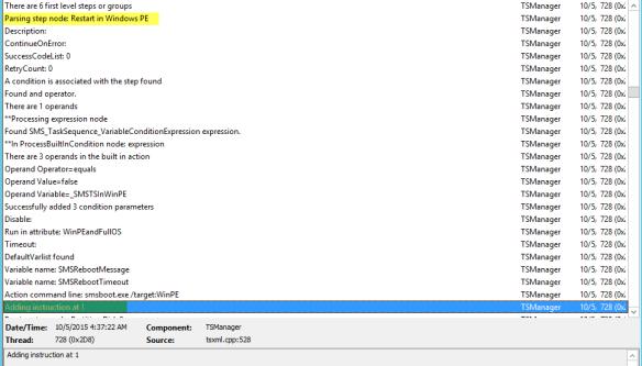 Inside view of SMSTS log file – Karthick Jokirathinam's blog