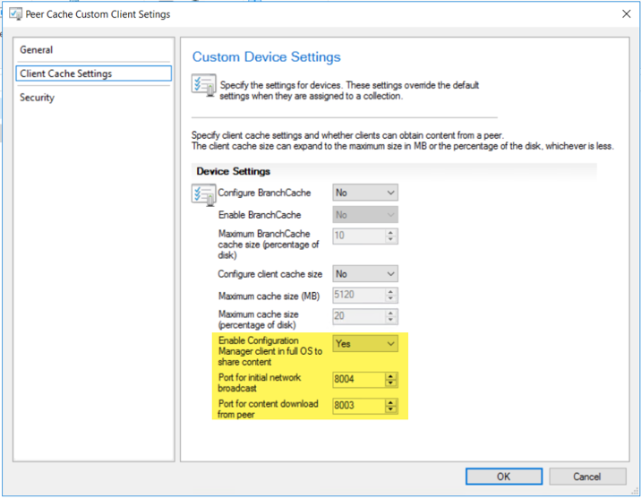 Configuring Peer Cache for Configuration Manager Clients – Karthick