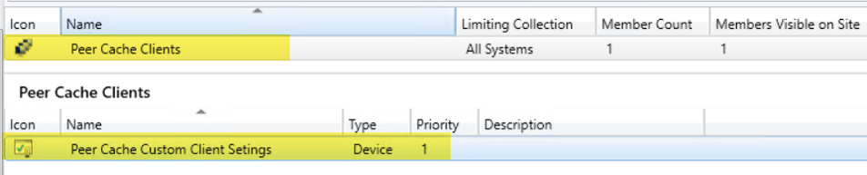 Configuring Peer Cache for Configuration Manager Clients