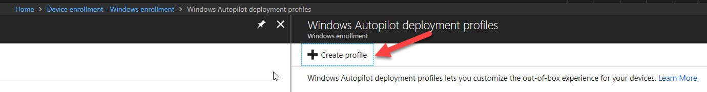 Configuring Windows AutoPilot via Microsoft Intune