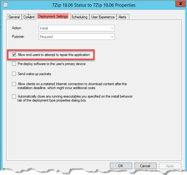 How to repair applications in ConfigMgr 1810 – Karthick